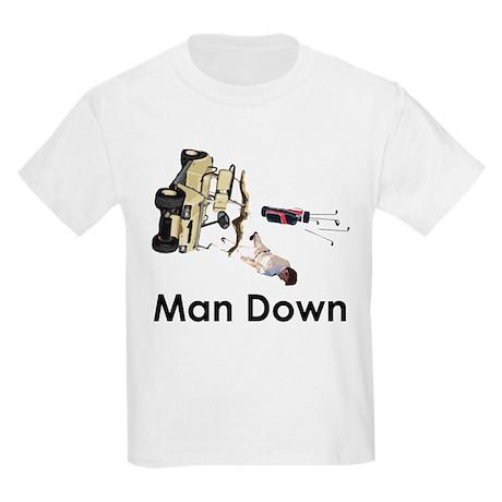 MAN DOWN Kids Light T-Shirt
