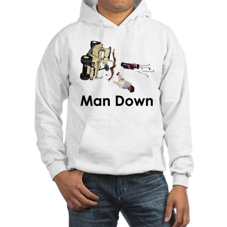 MAN DOWN Hooded Sweatshirt