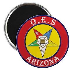 Arizona Order of the Eastern Star Magnet