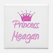 Princess Meagan Tile Coaster