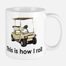 this is how i roll Small Small Mug
