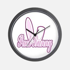 Puck Bunny 2 Wall Clock