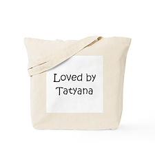 Funny Tatyana Tote Bag