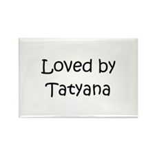 Cute Tatyana Rectangle Magnet