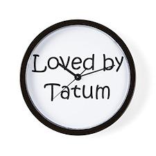 Cute Tatum Wall Clock