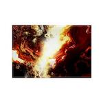 Firestorm Rectangle Magnet