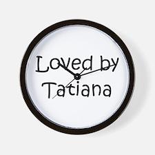Cute Tatiana Wall Clock