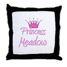 Princess Meadow Throw Pillow