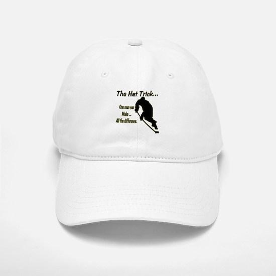The Hat Trick Baseball Baseball Cap