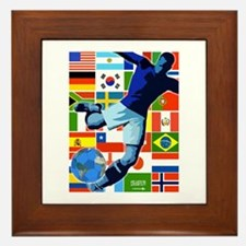 The World's Game Framed Tile