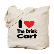 I heart the drink cart Tote Bag