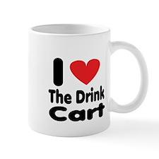 I heart the drink cart Mug