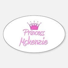 Princess Mckenzie Oval Decal
