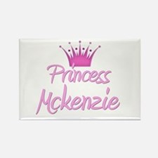 Princess Mckenzie Rectangle Magnet