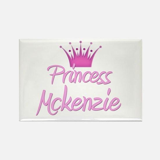 Princess Mckenzie Rectangle Magnet