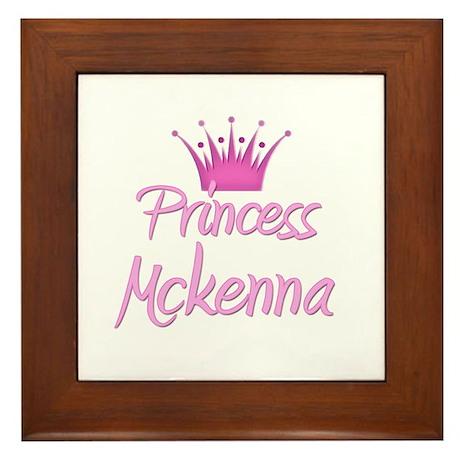 Princess Mckenna Framed Tile