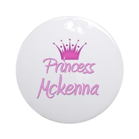 Princess Mckenna Ornament (Round)