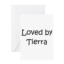 Cute Tierra Greeting Card