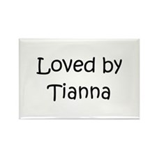 Cute Tianna Rectangle Magnet
