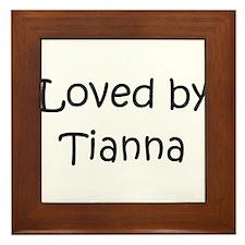 Cute Tianna Framed Tile