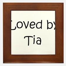 Cool Name tia Framed Tile