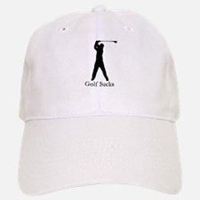 Golf Sucks Baseball Baseball Cap