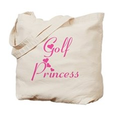 Golf Princess Tote Bag