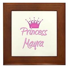 Princess Mayra Framed Tile