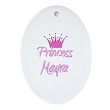 Princess Mayra Oval Ornament