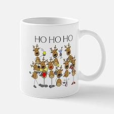 Ho Ho Ho Reindeer Small Small Mug