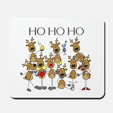 Ho Ho Ho Reindeer Mousepad
