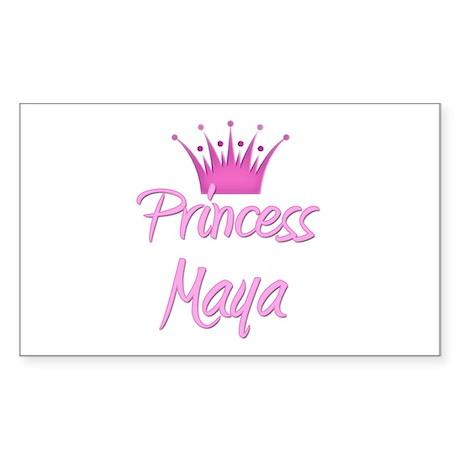 Princess Maya Rectangle Sticker