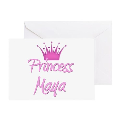 Princess Maya Greeting Card