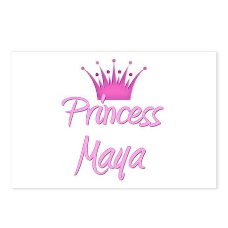Princess Maya Postcards (Package of 8)