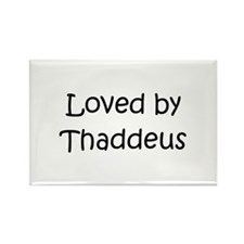 Unique Thaddeus Rectangle Magnet