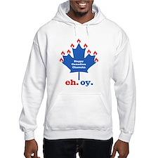 Canadian Chanukah Jumper Hoody