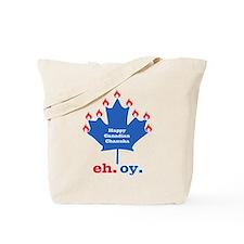 Canadian Chanukah Tote Bag