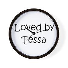 Unique Tessa Wall Clock