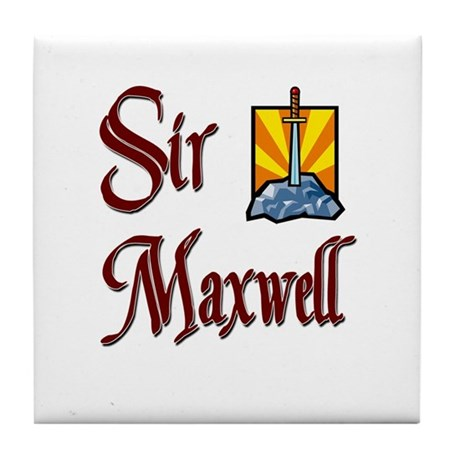 Sir Maxwell Tile Coaster