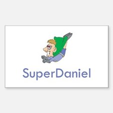 SuperDaniel Rectangle Decal