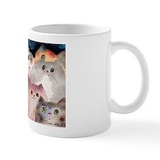Moon Viewing Cats Mug