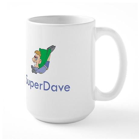 SuperDave Large Mug