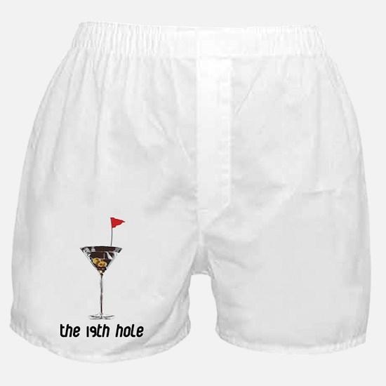 the 19h hole Boxer Shorts