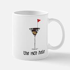the 19h hole Small Small Mug