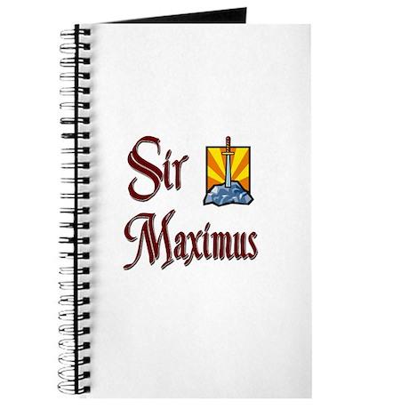 Sir Maximus Journal
