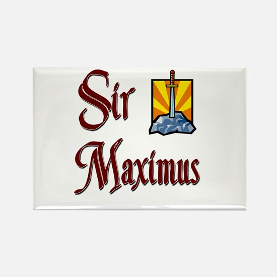 Sir Maximus Rectangle Magnet