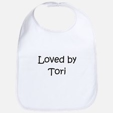 Cute Name tori Bib