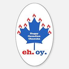 Canadian Chanukah Decal