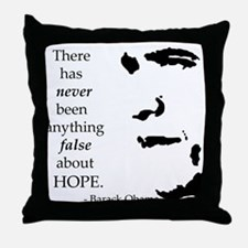 Obama is Hope Throw Pillow