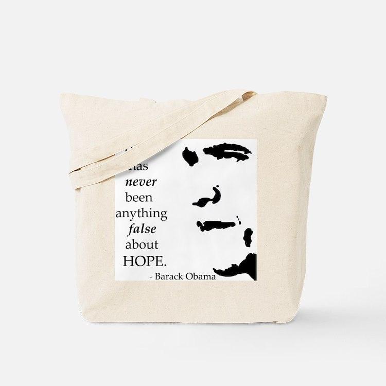 Obama is Hope Tote Bag